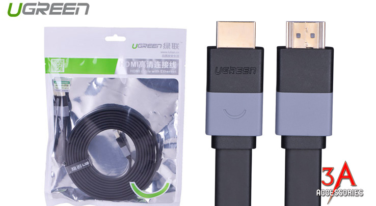 Sản phẩm cần bán: Cáp HDMI dẹt 1m cao cấp Ugreen 30108 Cap-hdmi-det-1m-ugreen-hd120-30108-2