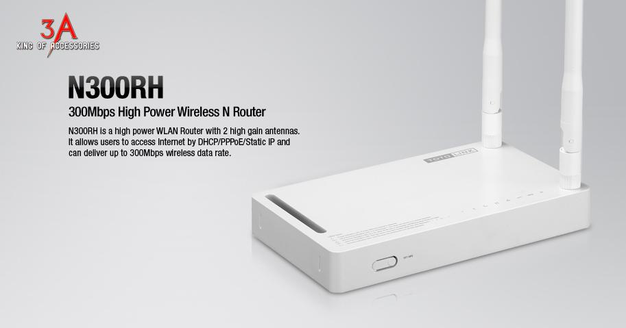 Bộ phát wifi 2 râu công suất phát cực khủng 500mW 2 angten rời - Totolink N300RH Bo-phat-wifi-2-rau-totolink-n300rh-3a-1