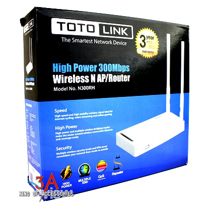 Bộ phát wifi 2 râu công suất phát cực khủng 500mW 2 angten rời - Totolink N300RH Bo-phat-wifi-2-rau-totolink-n300rh-3a-2