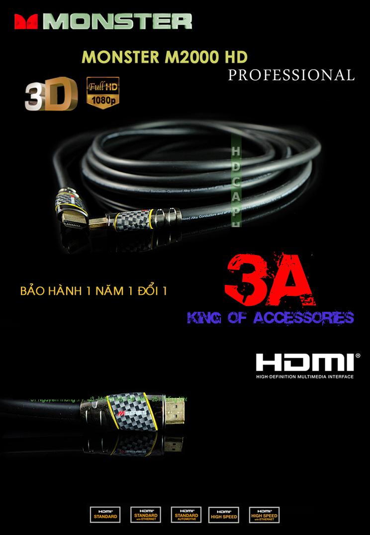 Cáp HDMI Unitek 1.5 mét Cap-hdmi-monster-14