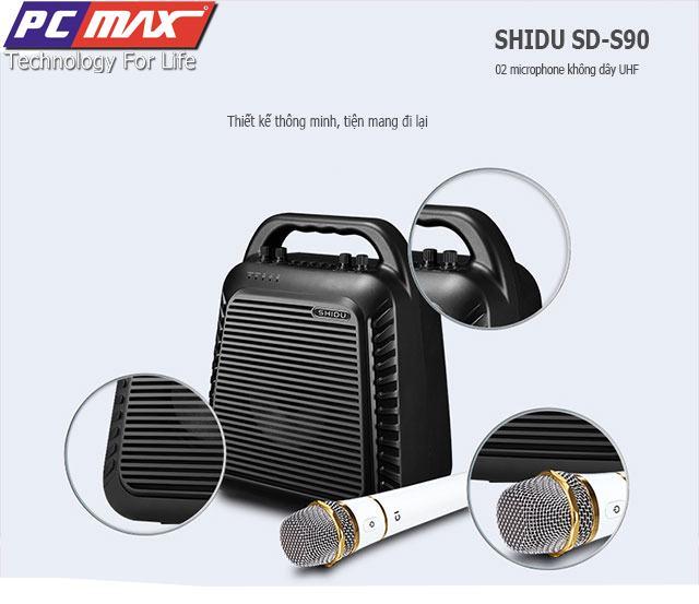 Máy trợ giảng không dây UHF wireless Shidu SD-S90 chất lượng cao S90%202