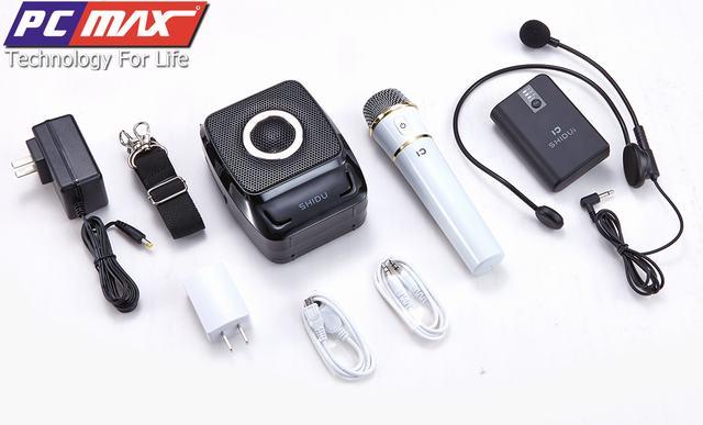 Máy trợ giảng không dây UHF wireless Shidu SD-S92 chất lượng cao S92%202