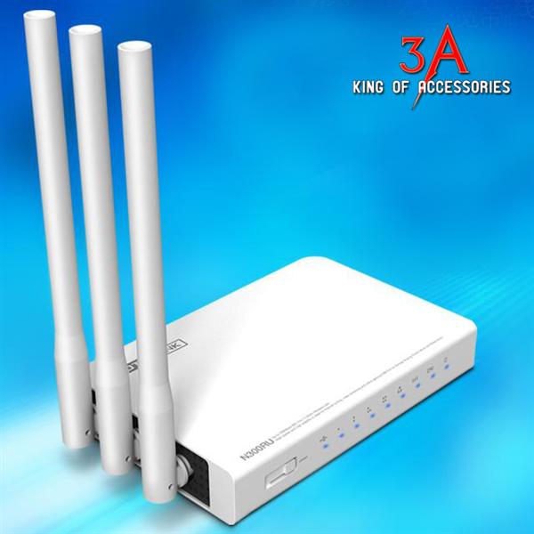 Bộ phát wifi 3 râu 300 Mbps hỗ trợ Printer server, FTP server Totolink N302r  Bo-phat-wifi-3-rau-300-mbps-ho-tro-printer-server-ftp-server-totolink-n300ru_1800