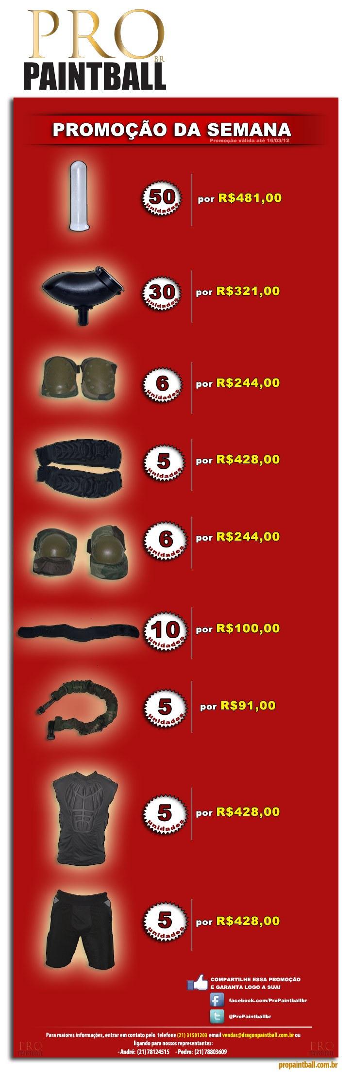 PROMOÇÃO DA SEMANA - PRO PAINTBALL - ATUALIZADO 17/09/12 Newspromo_allprodutos