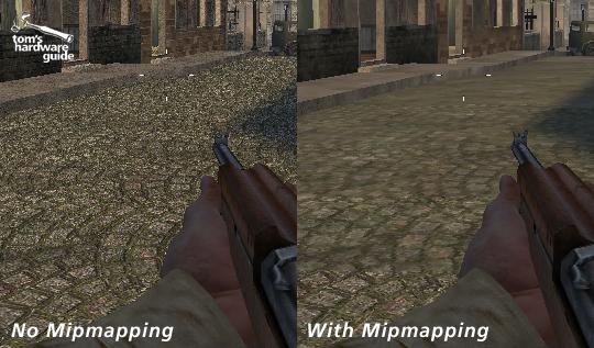 todas enb fica embaçado Mipmapping-egz
