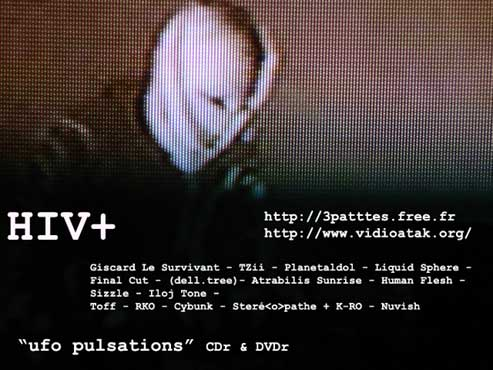 HIV+ ufo pulsations CD & DVD _flyUFO2d-copy