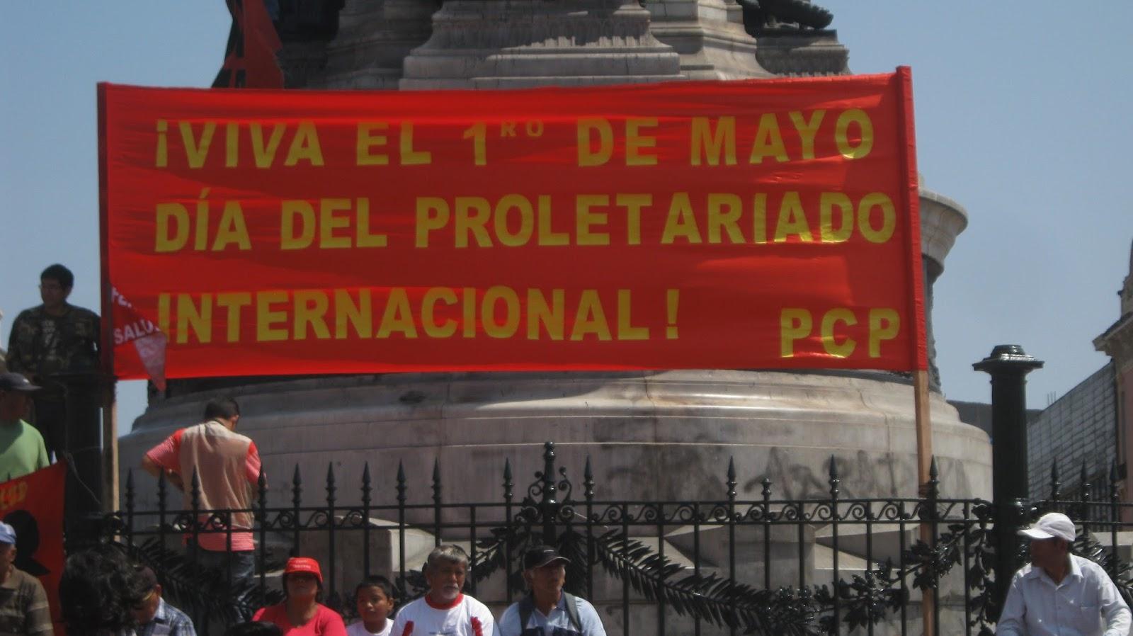Partido Comunista del Perú - 1º. de Mayo 2015 2