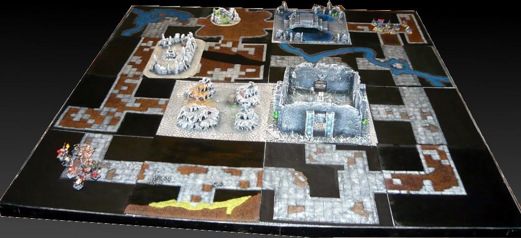 Testing Karak Zorn - first battle in the dungeons P1050475