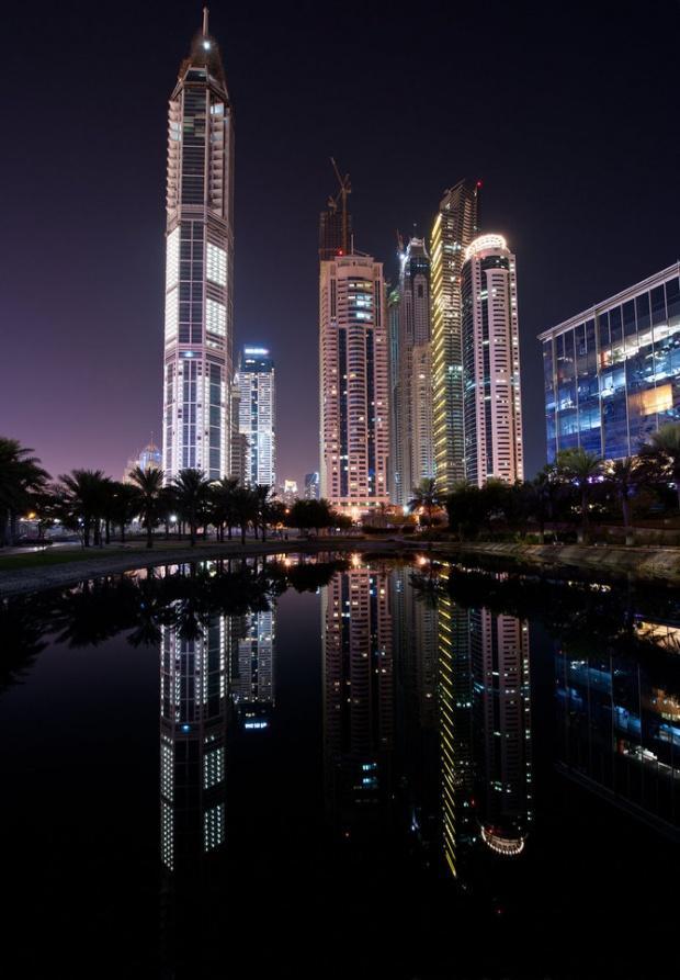 دبي ليلاً - صوراً غاية في الجمال Dubai-amazing-photos21