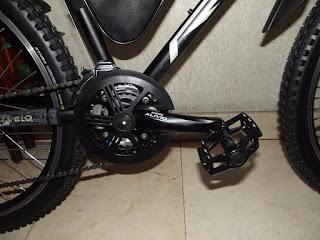 Presento los cambios que han dado lugar a la nueva bici que he montado sobre el 9C de 3,5 kW 9