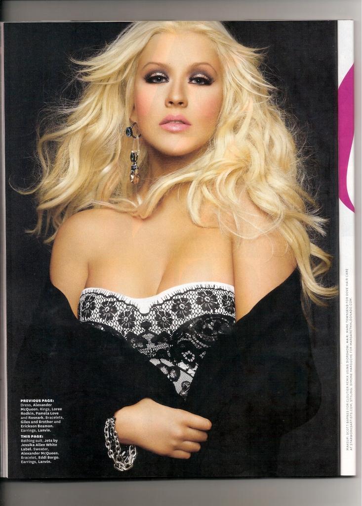 [Fotos+Video] Christina Aguilera en la portada de la revista Latina 2012 - Página 2 4