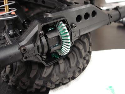 Déblocage différentiel pont axial AR60 DSC07066