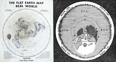 200 Proofs Earth is Not a Spinning Ball Mapsss