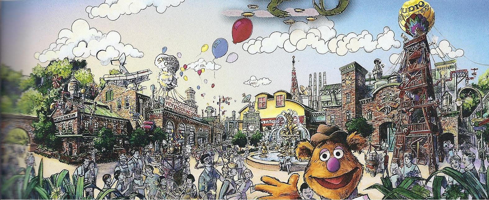 [Disney's Hollywood Studios] Grand Avenue (automne 2017) Muppet%2BStudios1