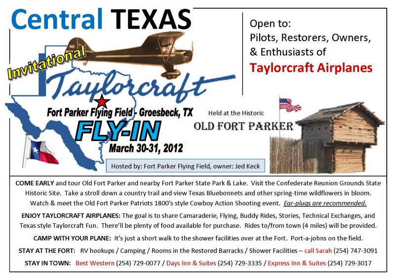 Central Texas Taylorcraft Fly-in March 31 2012 FLYER_1a