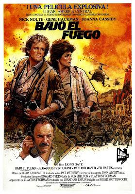 """""""'Bajo el fuego', película sobre la revolución sandinista"""" - publicado en el blog La Espina Roja Bajo-el-fuego"""