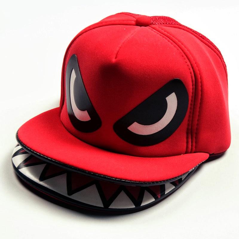 احدث صور الكاب كاب جميل  New-eyes-cap-hats-hip-hop-2013-snapback-street-dance-shark-truck-cap-truck-cap-hats