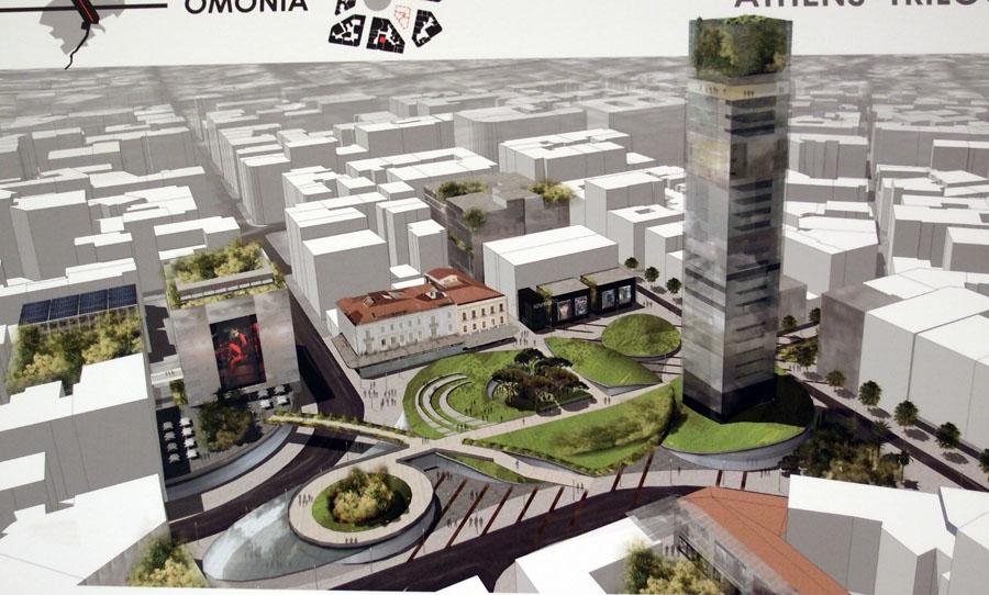 Ανάπλαση του κέντρου της Αθήνας-Άξονας Πανεπιστημίου P2274226