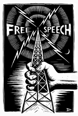 Free Speech Police FreeSpeechRadio