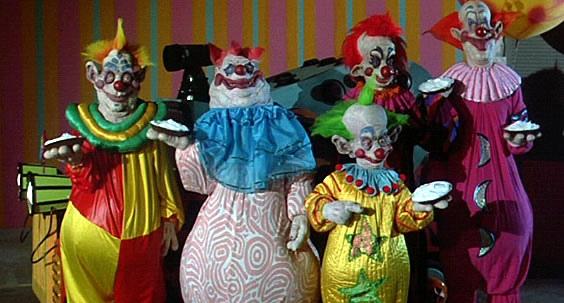Payasos asesinos del espacio exterior/ Killer Klowns From Outer Space - Stephen Chiodo (1988) Alien_kkfos