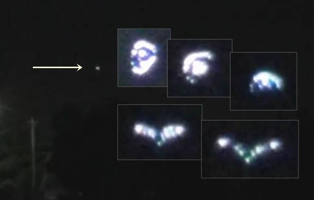 Shape-changing UFO triangle filmed over Tijuana, Mexico - July 17, 2015 Ufo%2Bshape%2Bchanging%2Borbs%2Bspheres