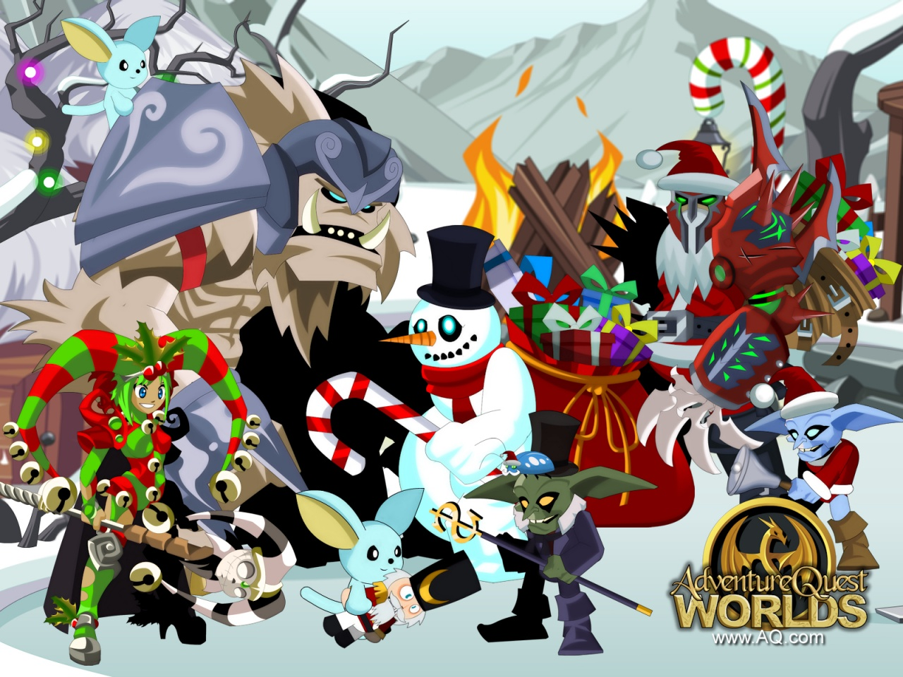 Anjel Quest World Aqw-frostvale-1280x960