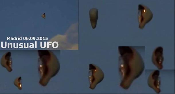Extraño OVNI captado cerca de Madrid. España M1