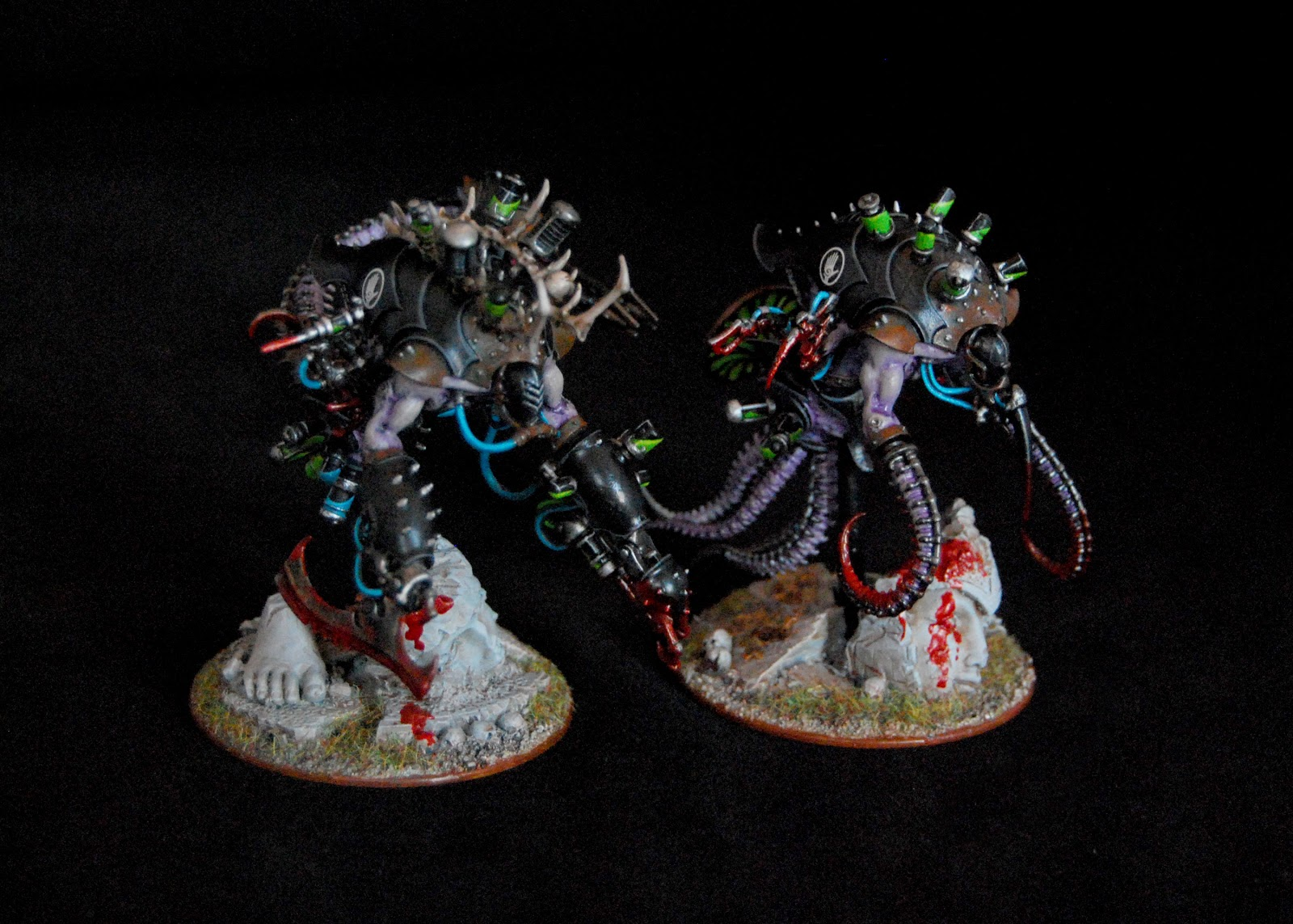 EOE's Dark Eldar Painting Tutorials  DE_Pain_Engines_01