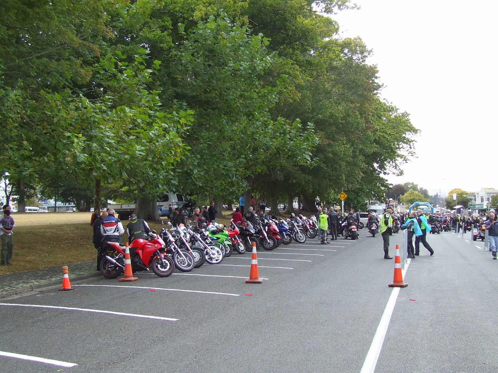Toy Run Ulysses Waikato Chapter Cambridge - Hamilton NZ DSCF2884