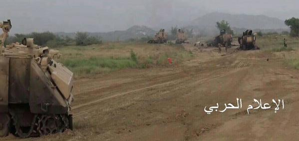 Yemeni Conflict: News - Page 21 Saudi%2Bvehicles%2Bdestroyed%2Bby%2BYemeni%2BArmy%2Bin%2BJizan%2B3