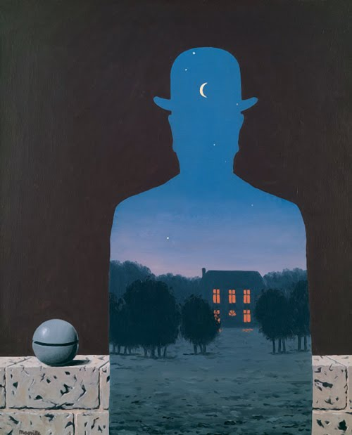 A l'Esperluette. - Page 9 Magritte-peinture-nuit