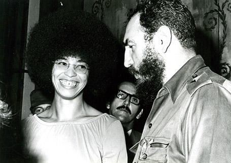 Ha muerto Fidel Castro. Angela%2BDavis%2Bcon%2BFidel%2BCastro