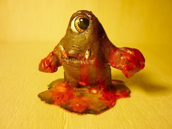 Salish Figuren Rot