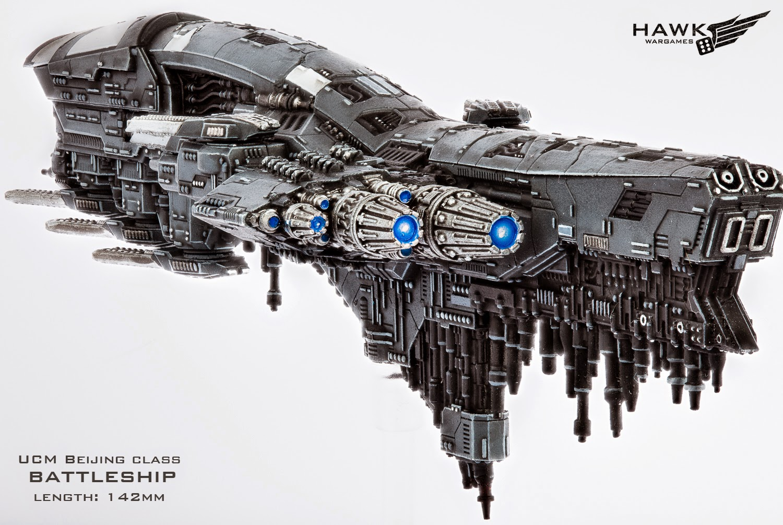 Dropfleet Commander by Hawk Wargames Beijing2