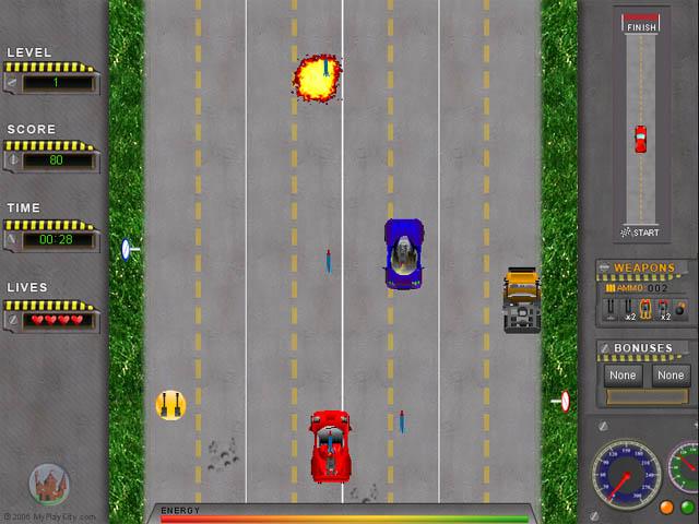 تحميل افضل العاب خفيفة للكمبيوتر 2013 (اكثر من 50 لعبة) Road-attack_640x480_screenshot_2