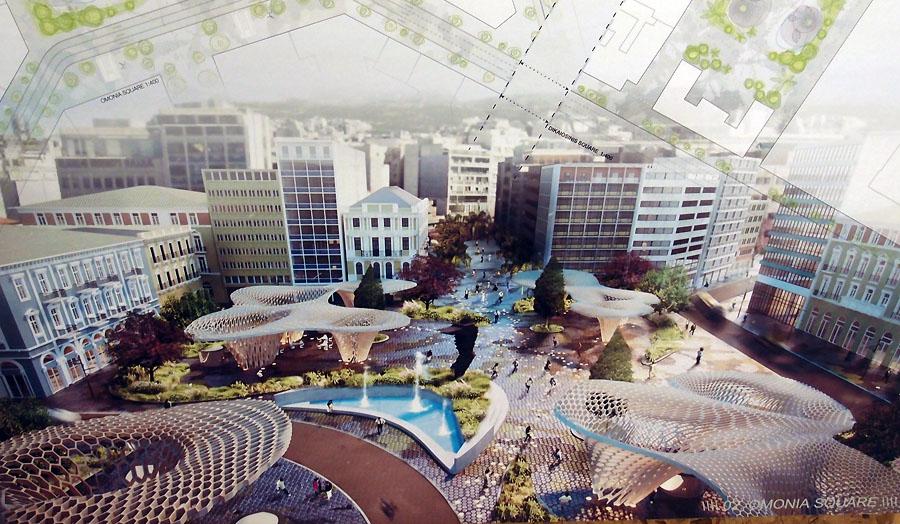 Ανάπλαση του κέντρου της Αθήνας-Άξονας Πανεπιστημίου P2274208