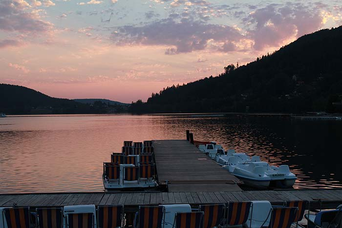 Coucher de soleil sur le lac de Gérardmer Safari16