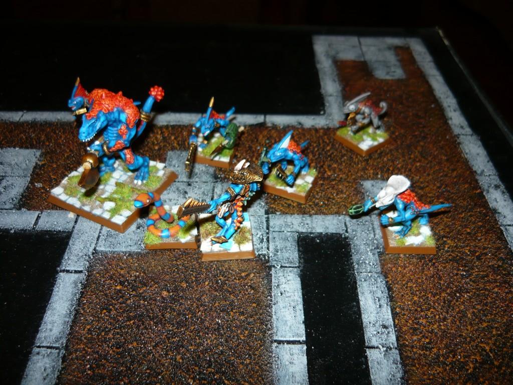 Testing Karak Zorn - first battle in the dungeons P1050489