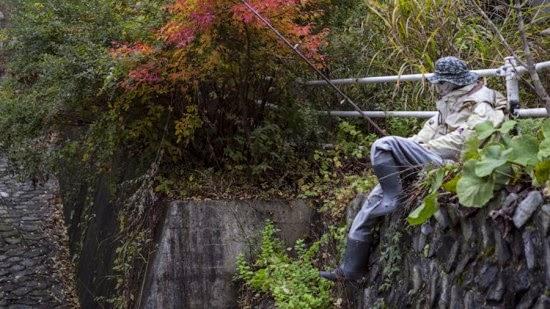 قرية يابانية معظم سكانها من الدمى 3