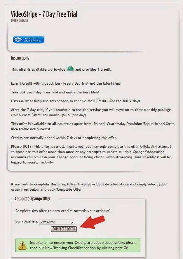 شرح موقع Xpango لربح الاجهزة الالكترونية عن طريق جمع النقاط 9