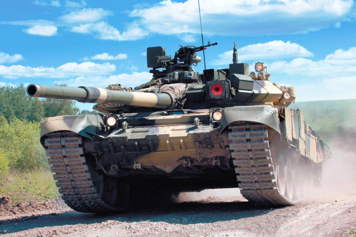 Syrian Arab Army (SAA) - Page 2 Tank-T-90-Rusia