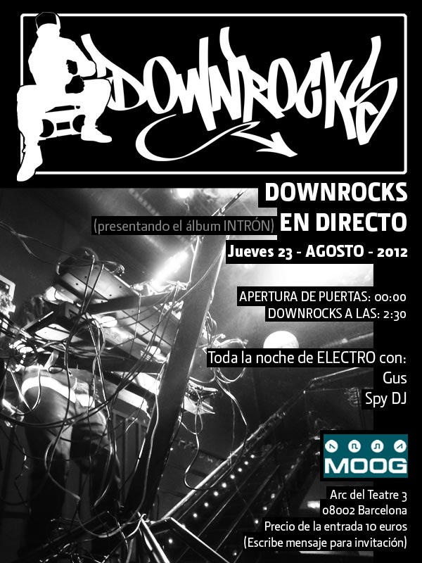 Downrocks live @ MOOG bcn 23 de agosto FLYER-Downrocks-Live-MOOG-2012