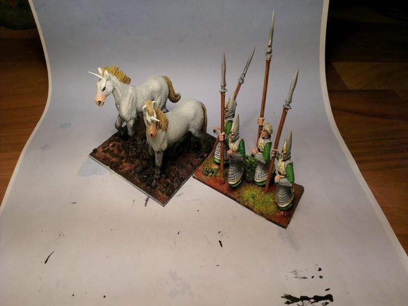 Hordes of the things unicorns WIPEinhornHP4