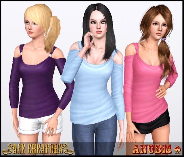 Showtime Casual Trend Top by Anubis TS3ShowtimeCasualTrend_Top_1