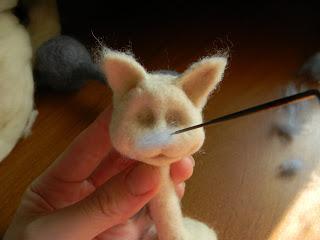 Мастер класс по созданию парных кошек     Elchy DSCN6049
