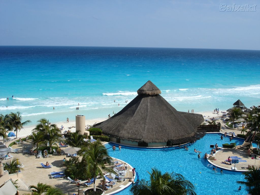 Me ane te nje fotoje tregoni se ku do te deshironit te ishit ne keto momente? Cancun-beach