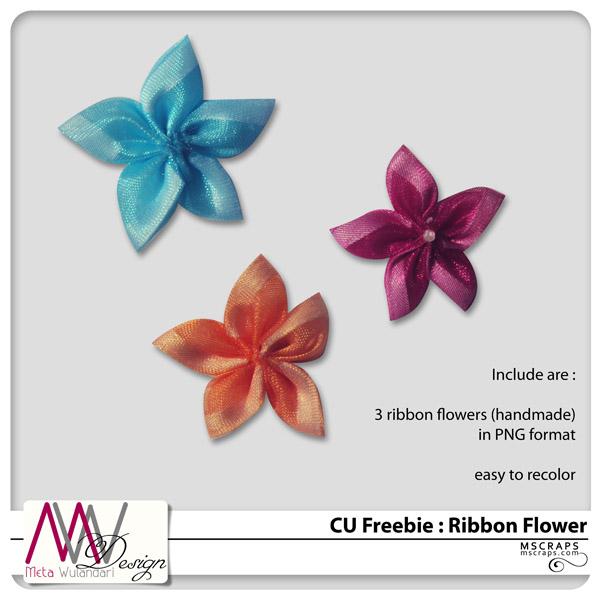 CU Ribbon Flower MWD_CU_flowerribbon