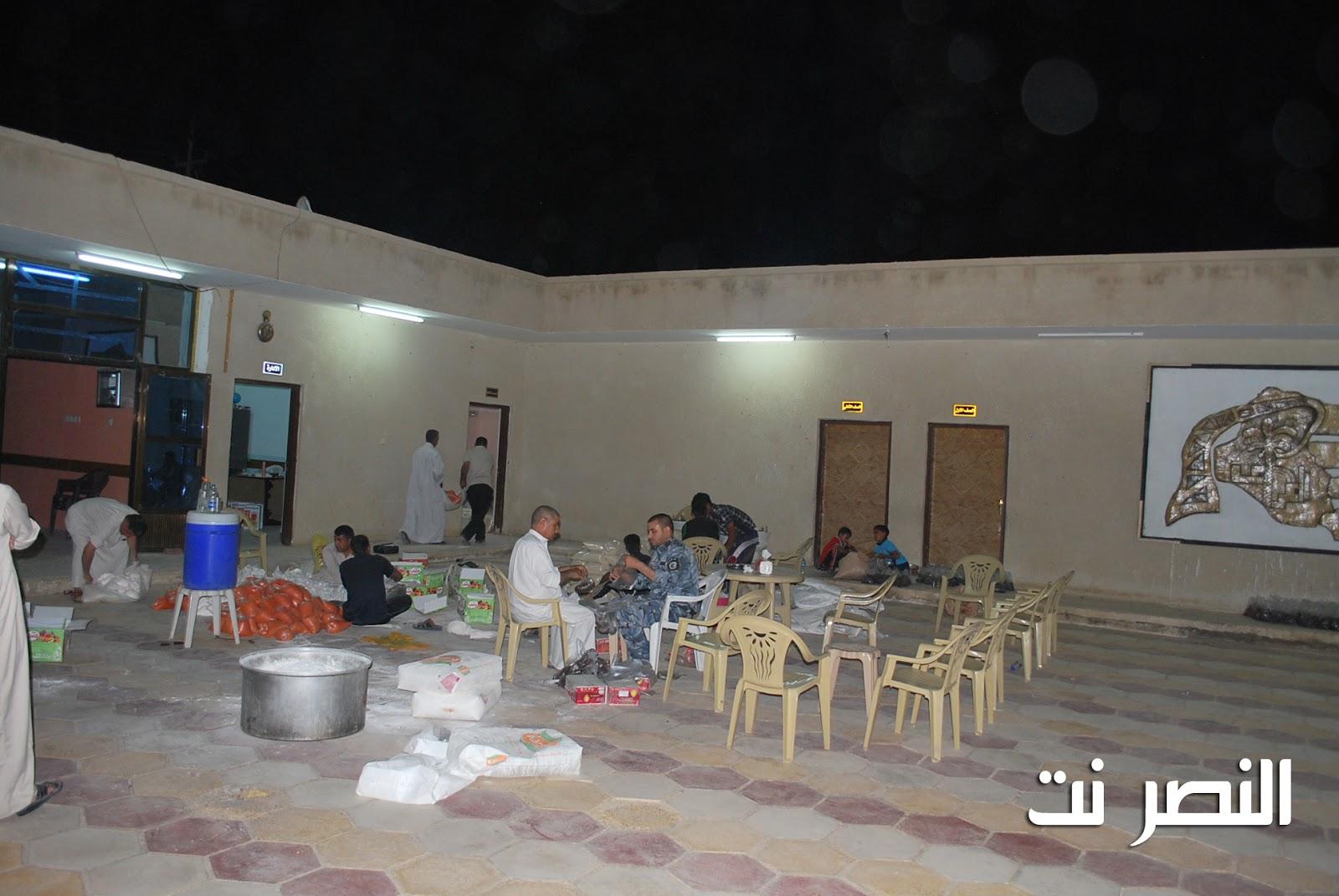 مبرة النصر للأيتام تباشر توزيع سلة رمضان بالتعاون مع الجمعيات الخيرية  DSC_0116