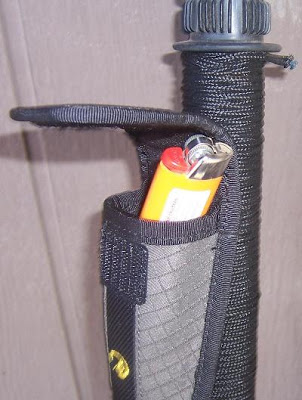 Walking Stick Versatility Survival%2BStick_Acessory%2BPouch%2Bwith%2BLighter