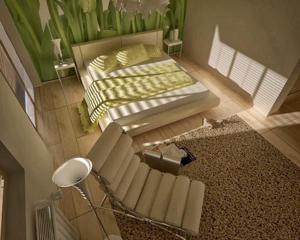 صور تصاميم ديكورات غرف نوم مودرن رائعة 2014 Bedroom Decoration  8-floral-bedroom-2